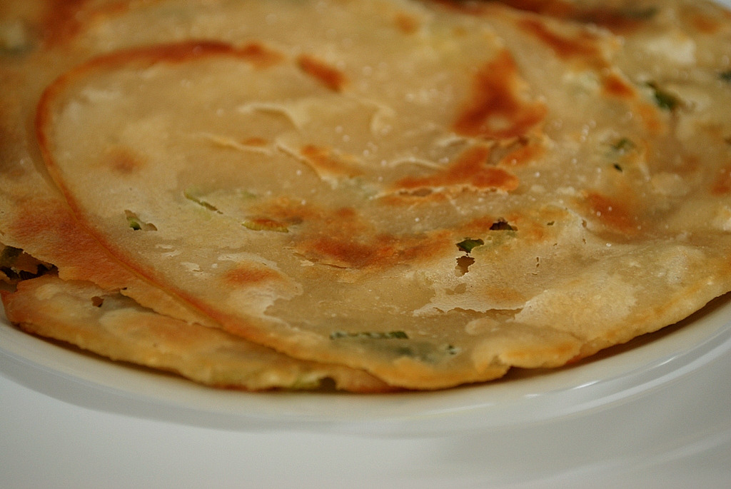 Scallion Pancakes | the tasty spot
